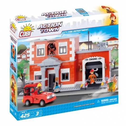COBI Action Town Mega wóz strażacki