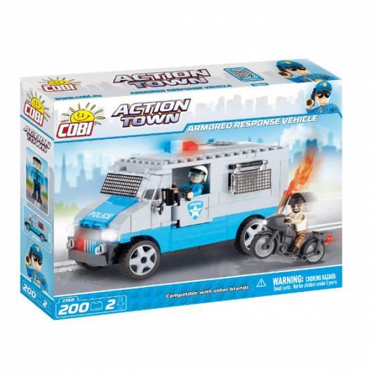 COBI Action Town Policyjna ciężarówka