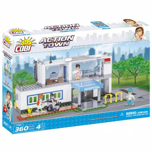 COBI Action Town Szpital 350 el.