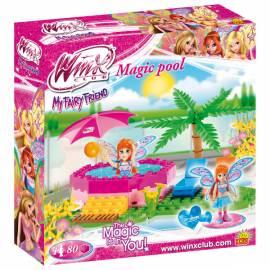 COBI Winx Bloom Magiczny basen Jacuzzi 80 kl. (25082)