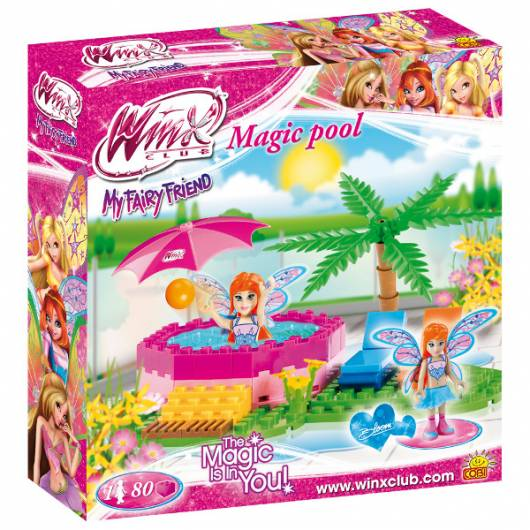 COBI Winx Bloom Jacuzzi 80 kl