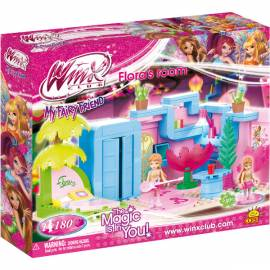 COBI Winx Pokój Flory 180 kl. (25180)