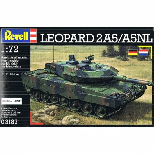 REVELL Leopard 2 A5A5 NL