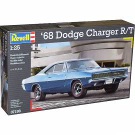 REVELL 1:25 Dodge Charger 1968 (07188)