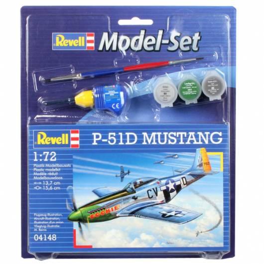 REVELL Model Set P51 D Mustang