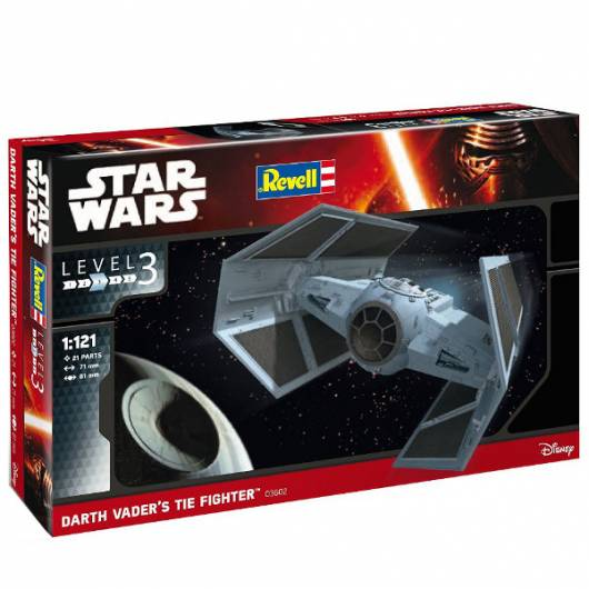 REVELL Star Wars Dath Vaders tie fighter