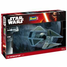 REVELL 1:90 Star Wars TIE Interceptor (03603)