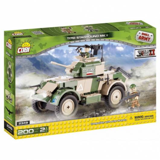 COBI Armia Staghound T17E1