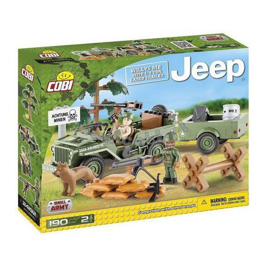 COBI Armia Jeep Willys