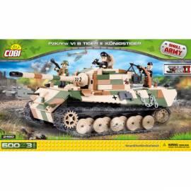 COBI Mała Armia Tiger II PzKpfw VI B Konigstiger - czołg ciężki 600 kl. (2480)
