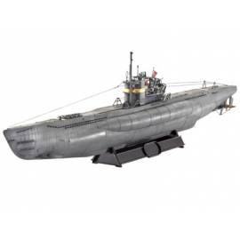REVELL 1:144 German Submarine TYPE VII C41 (05100)