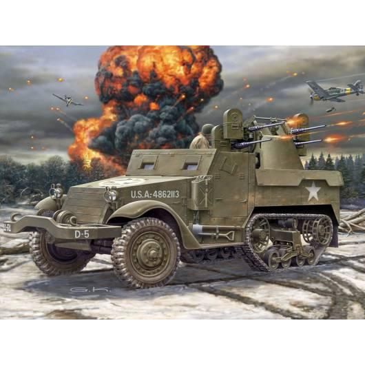 Revell 1:76 Pojazd wojskowy M16 Halftrack (03228)