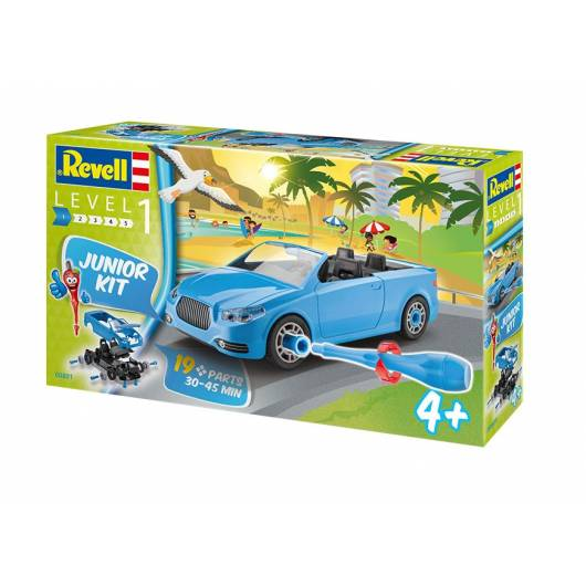 Revell Junior Kit 1:20 Kabriolet (00881)