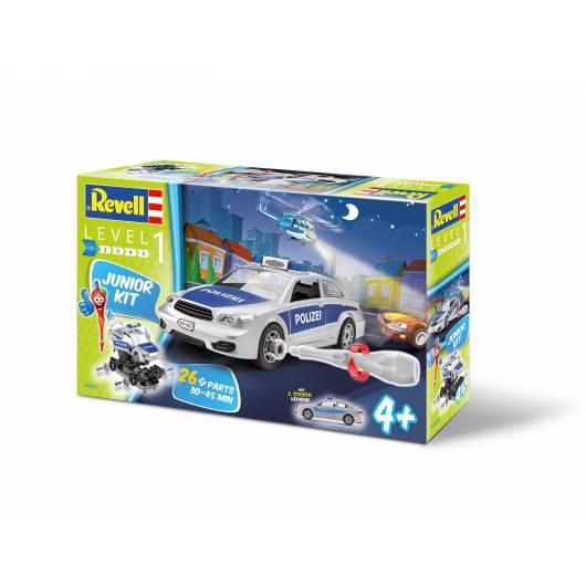 Revell Junior Kit 1:20 Radiowóz (00882)