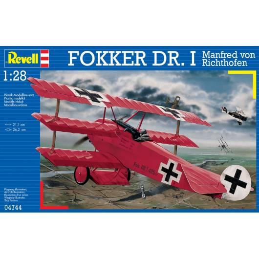 REVELL 1:28 Fokker DR. I Richthofen (04744)