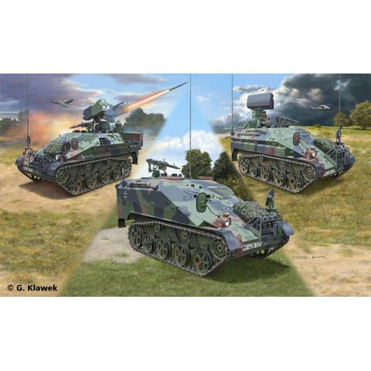 REVELL 1:35 WIESEL 2 LeFlaSys (Ozelot & AFF & BF/UF) (03205)