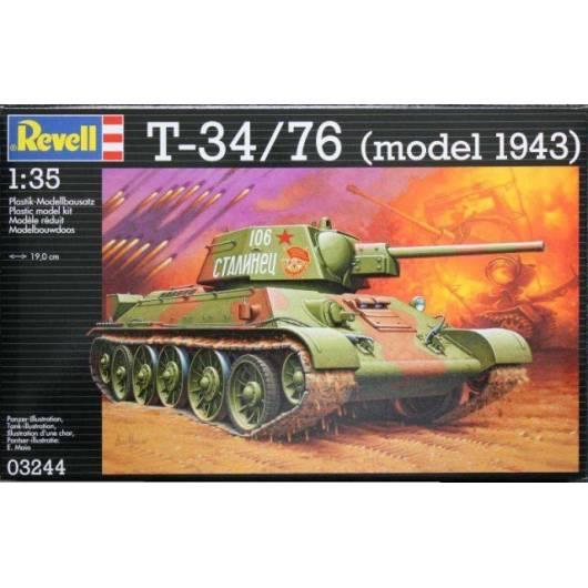 REVELL 1:35 T-34/76 (03244)