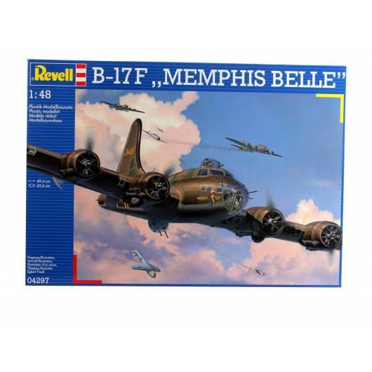 REVELL 1:48 B-17F Memphis Belle (04297)