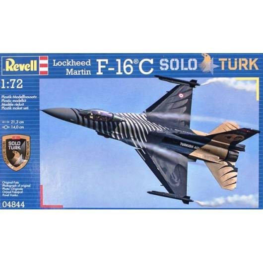 REVELL 1:72 F-16C 'Solo Turk (04844)