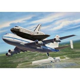 REVELL 1:144 Boeing 747 SCA & Space Shuttle (04863)