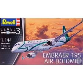 "REVELL 1:144 Embraer ERJ-195 ""Air Dolomiti"" (04884)"