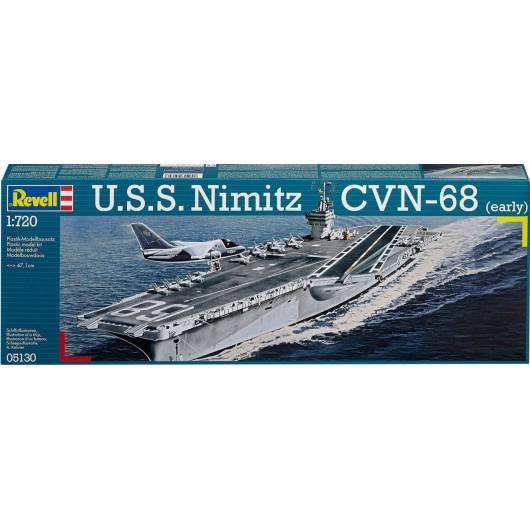REVELL 1:720 U.S.S. Nimitz CVN-68 (early) (05130)