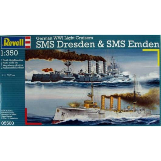 REVELL 1:350 German Destroyer Type 1936 (05500)