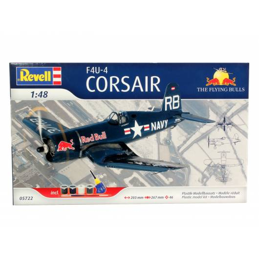 REVELL 1:48 F4U-4 Corsair Flying Bulls (05722)