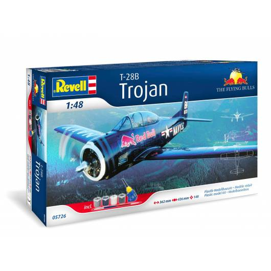REVELL 1:48 T-28 Trojan Flying Bulls (05726)