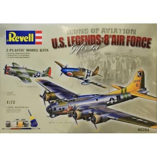 REVELL 1:72 Flying Legends 8th USAAF (05794)