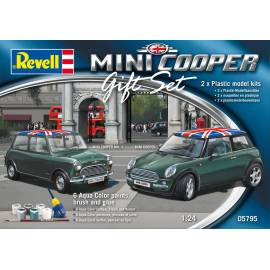 REVELL 1:24 Mini Cooper Set (05795)