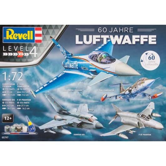 REVELL 1:72 60 Jahre Luftwaffe (05797)
