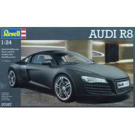 REVELL 1:24 Audi R8 Black (07057)