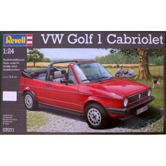 REVELL 1:24 VW Golf 1 Cabrio (07071)