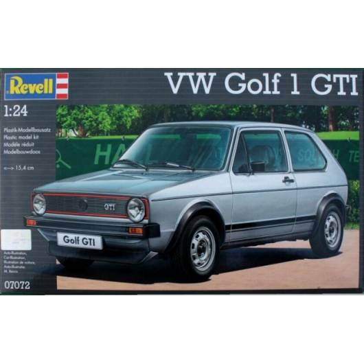REVELL 1:24 VW Golf 1 GTI (07072)