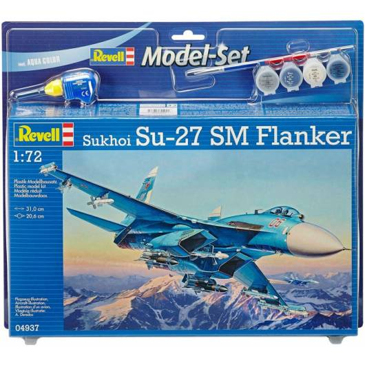 REVELL 1:72 Sukhoi SU - 27 SM Flanker (64937)