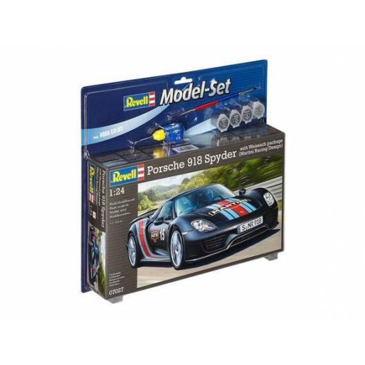 "REVELL 1:24 Porsche 918 Spyder ""Weissach Sport Version"" (67027)"