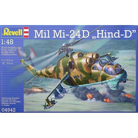 "REVELL 1:48 Mil Mi-24D ""Hind-D"" (04942)"