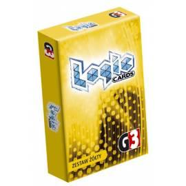 Logic Cards - zestaw żółty