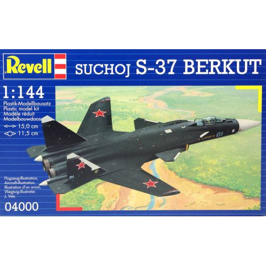 REVELL 1:144 Suchoj S-37 Berkut (04000)