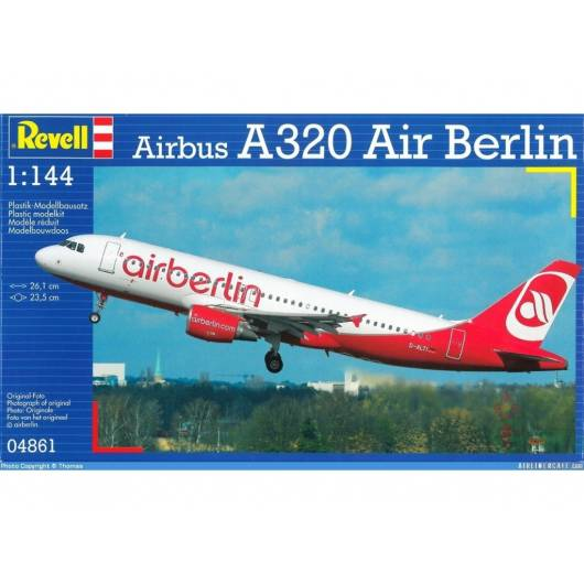 REVELL 1:144 Airbus A 320 (04861)