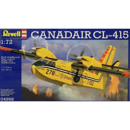 REVELL 1:72 Canadair Bombadier CL-415 (04998)