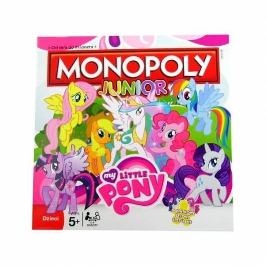 Gra Monopoly Junior: My Little Pony (wersja polska)