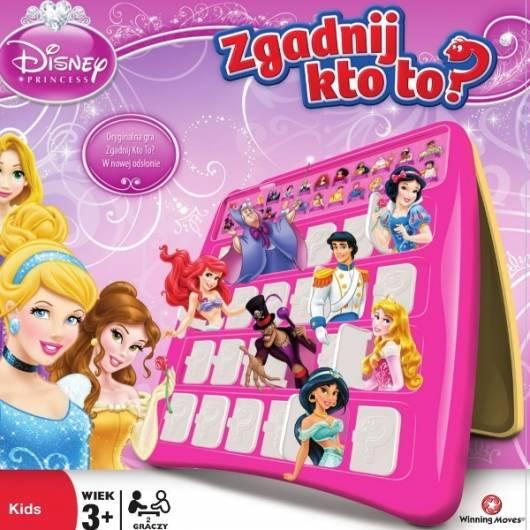 Gra Hasbro Zgadnij kto to? Księżniczki Disney