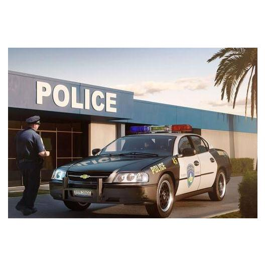 REVEL 1:25 '05 CHEVY IMPALA POLICE CAR (07068)