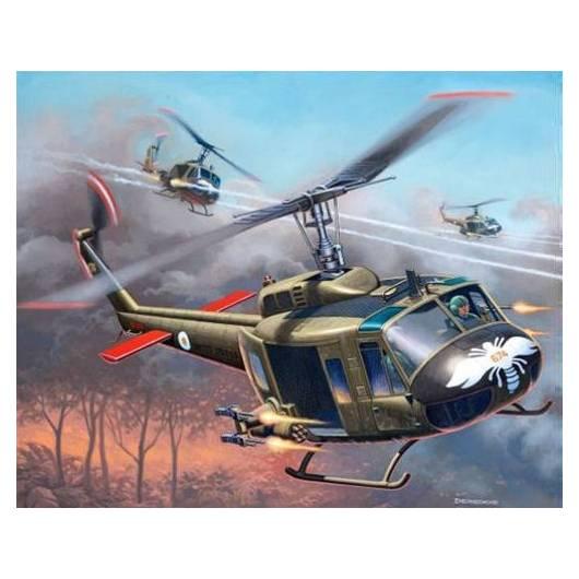 REVELL 1:100 Bell UH-1H Gunship (64983)