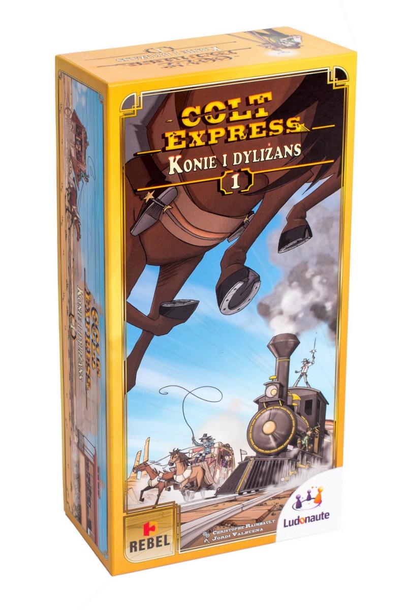 REBEL Gra Colt Express: Konie i Dyliżans