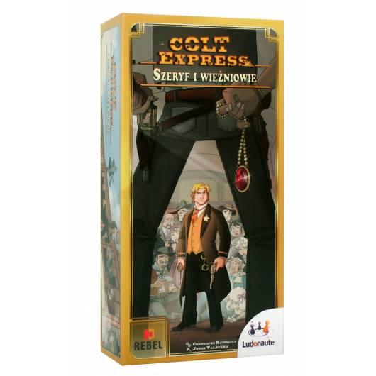 REBEL Gra Colt Express: Szeryf i Więźniowie