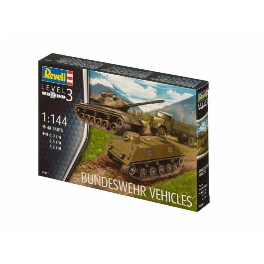 REVELL 1:144 Bundeswehr Vehicles (03351)