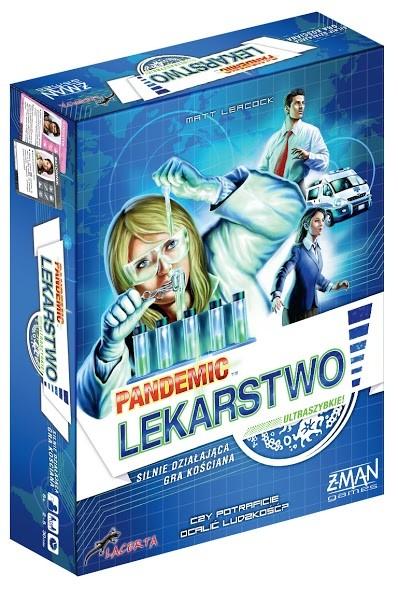 Lacerta Gra Pandemia (Pandemic): Lekarstwo